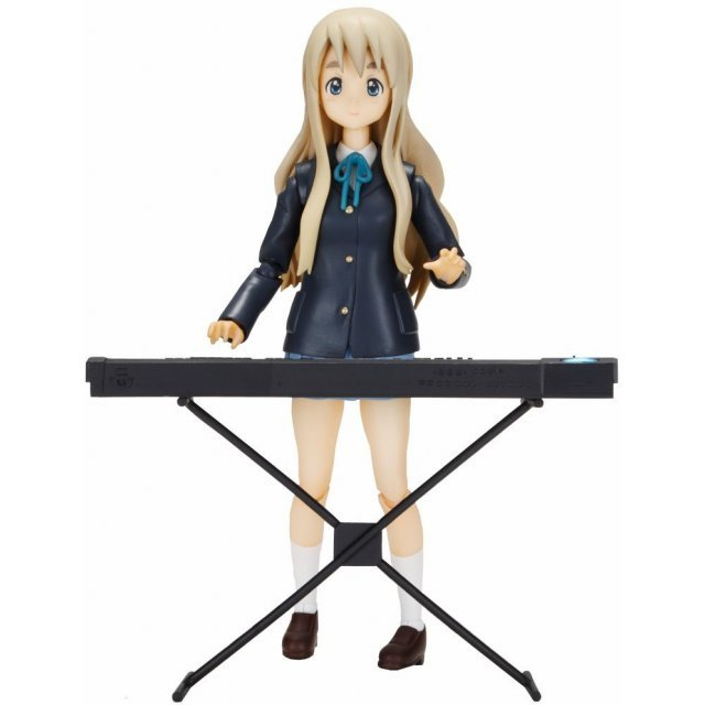 K-ON! Mobip No.04 Pre-Painted PVC Figure: Tsumugi Kotobuki
