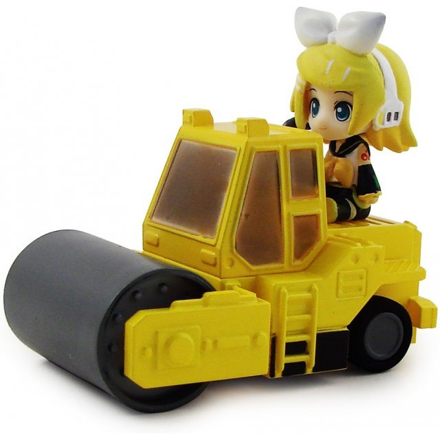 Nendoroid Plus Vocaloid Pull Back Car: Rin in Road Roller