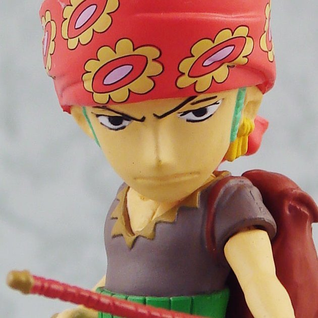 One Piece Strong World Vol. 2 Pre-Painted Figure: Zoro