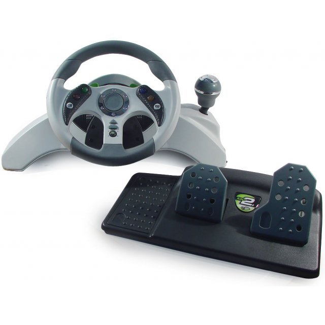 Xbox 360 MadCatz MC2 Racing Wheel & Pedals