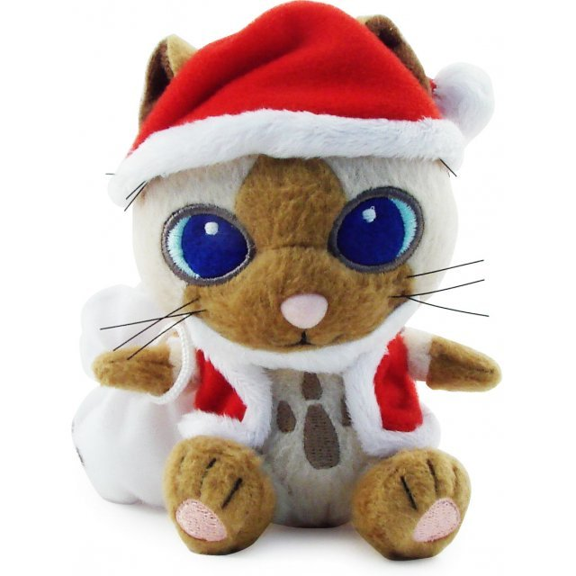 Monster Hunter Plush Doll: Airou (Santa Version)