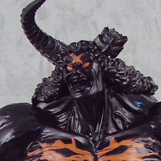 Kinnikuman Pre-Painted Figure: Buffaloman Another Mode 2 (Black Version)