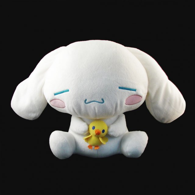 Cinnamoroll Big Plush Doll: Cinnamoroll with chick