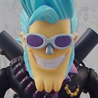 One Piece Strong World Vol. 4 Pre-Painted Figure: Franky