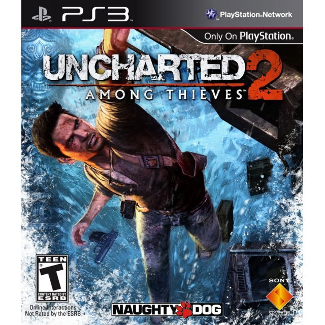 Uncharted 2: Among Thieves [Damaged Case]
