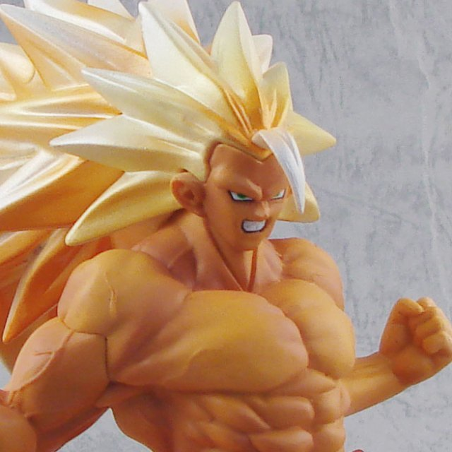 Dragon Ball Kai Super DX Max Muscle Mania Vol. 1 Figure: Super Saiyan 3 Son Gokou