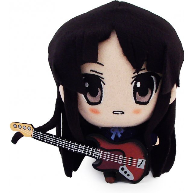 K-ON! Prize Plush Doll: Akiyama Mio (Banpresto Version)