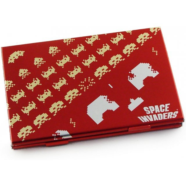 Space Invaders Card Case (Red)