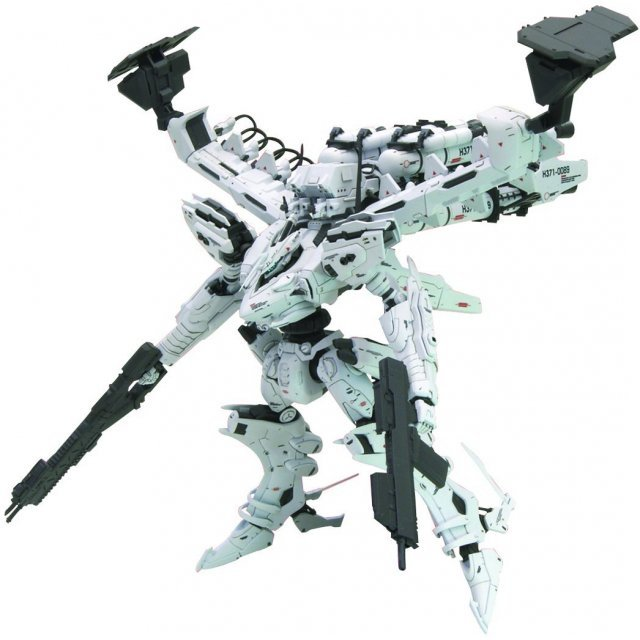 Armored Core 1/72 Scale Plastic Model Kit: White Glint & V.O.B Set Movie Color Version (Re-run)