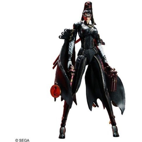 Bayonetta Play Arts Kai Pre-Painted Figure: Bayonetta