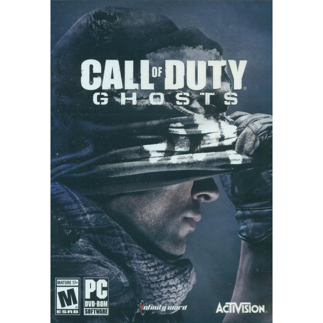 Call of Duty: Ghosts (Comes with Free Fall Dynamic Bonus Map) (DVD-ROM)