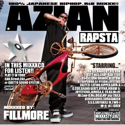 Azian Rapsta Mixxxed By Fillnore