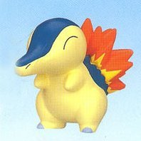 Pokemon DP Collectible Mini Pre-Painted Figure: Hinoarashi Fire Type