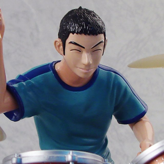 BECK 1/12 Scale Guitar Collection Pre-Painted Figure: Saku & Drum Special