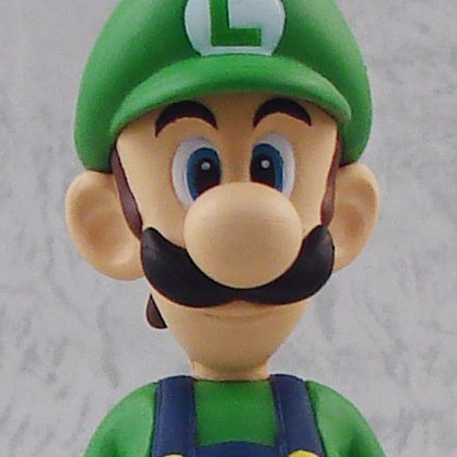 Super Mario Figure Collection Vol. 1 Pre-Painted Mini Figure: Luigi