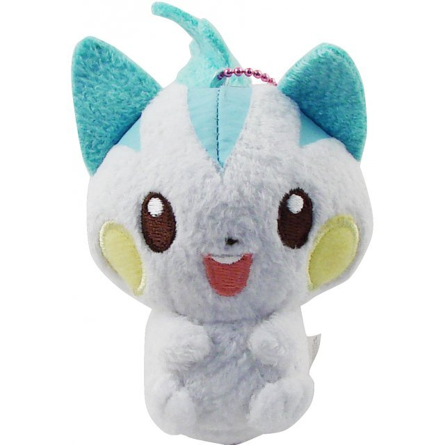 Pokemon DP Pocket Monster Pastel Colour Series Key Chain Plush Doll: Pacherizu