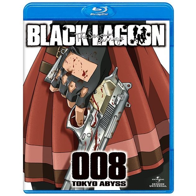 Black Lagoon The Second Barrage Blu-ray 008 Tokyo Abyss