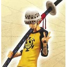 One Piece The Grandline Men Vol.4 Pre-Painted Figure: Trafalgar Law
