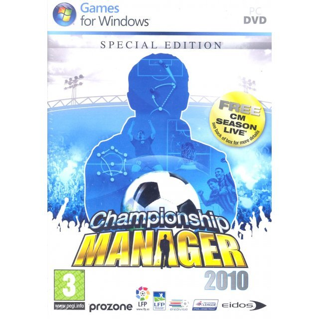 Championship Manager 2010 [Special Edition] (DVD-ROM)