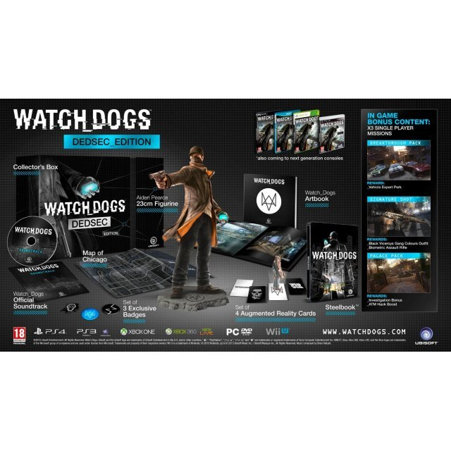 Watch Dogs (DedSec Edition) (DVD-ROM)