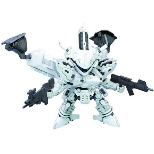 Armored Core Non Scale Pre-Painted Plastic Model Kit: D Style Lineark White-Glint (Re-run)