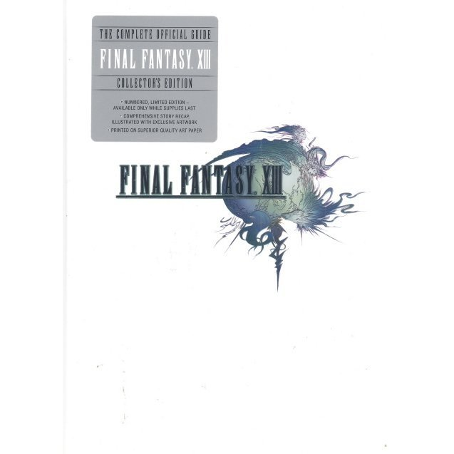 Final Fantasy XIII Collector's Edition Prima Guide