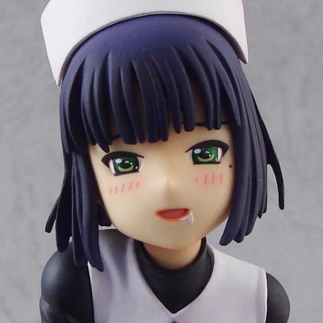 Linari Aibureshon 1/7 Scale Pre-Painted PVC Figure: Shizukuishi (Dark Blue Version)