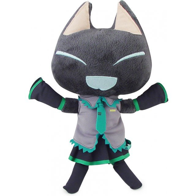 Dokodemoissyo X Miku Hatsune Fun Collection Plush Doll: Kuroid