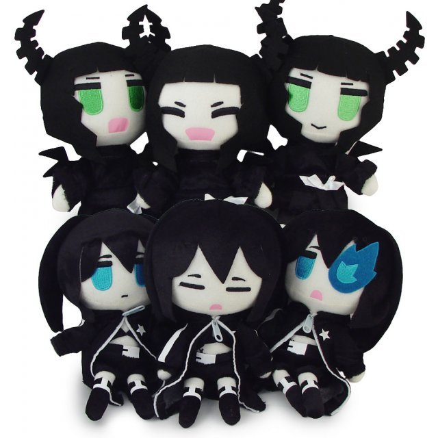 Black Rock Shooter X Dead Master Plush Doll (Shipped Randomly)