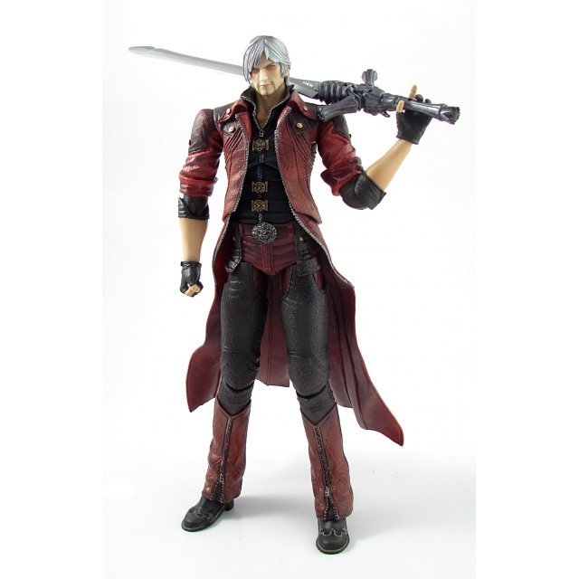 Devil May Cry 4 Play Arts Kai Non Scale Pre-Painted PVC Figure: Dante