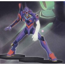 Neon Genesis Evangelion Non Scale Pre-Painted Figure: EVA-01 Type 2 (Sega Version)
