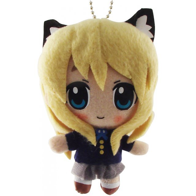K-ON! Cat Ear Plush Doll: Kotobuki Tsumugi