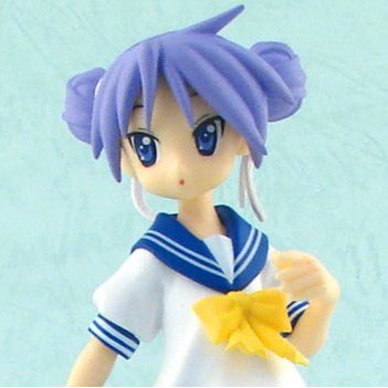 Lucky Star Figure Vol.4 Non Scale Pre-Painted Figure: Hiiragi Kagami