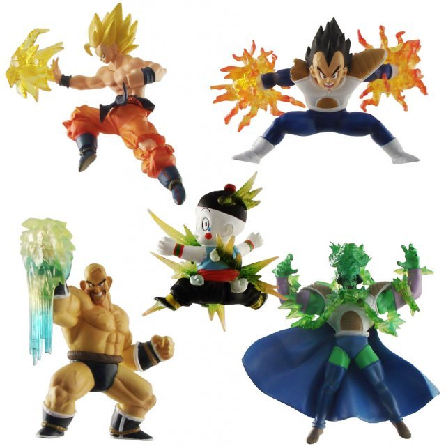 Banpresto Dragon Ball Kai Super Effect Vol.2 Pre-Painted Key Chain Figure (Shipped Randomly)