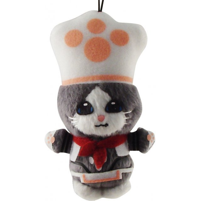 Banpresto Monster Hunter Lovely Mascot 3 Mini Plush Doll Strap: Kitchen Meraru