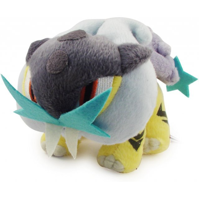 Pokemon Pocket Monster DP Korotto Pre-Painted Plush Doll: Raikou