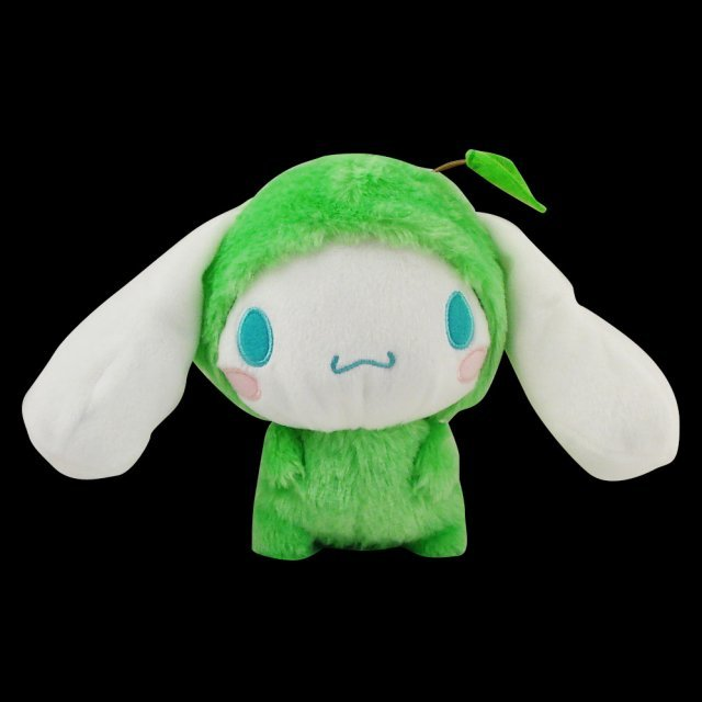 Cinnamoroll Fruits Dress Up Mini Plush Doll: Cinnemoroll Green Apple