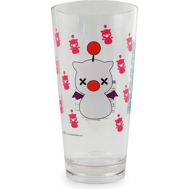 Final Fantasy Mascot Clear Glass: Moogle