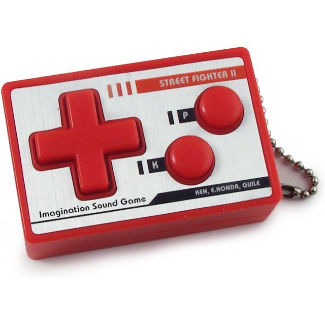 Bandai Street Fighter II Controller Voice Command Key Chain - Ken/E.Honda/Guile