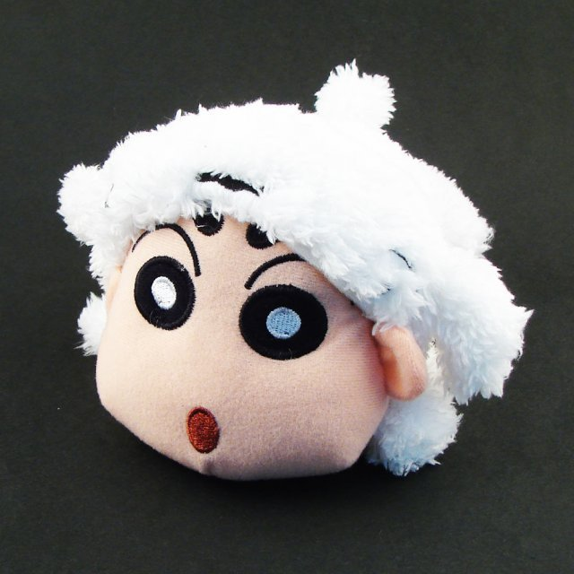 Crayon Shin Chan Family Plush Doll: Shin Chan (Shiro Version)