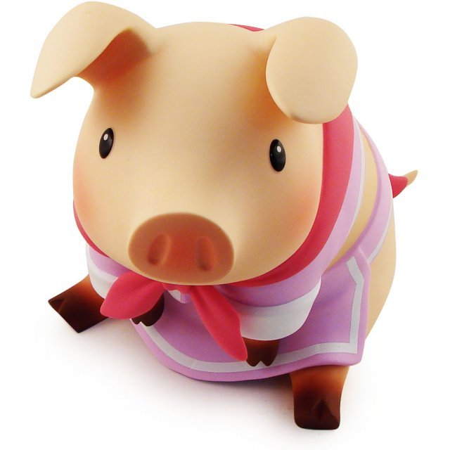 Monster Hunter Kumitateshiki Pugi Figure: Charismatic Pink