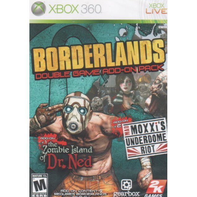 Borderlands Expansion: The Zombie Island of Dr Ned / Mad Moxxi's Underdome Riot