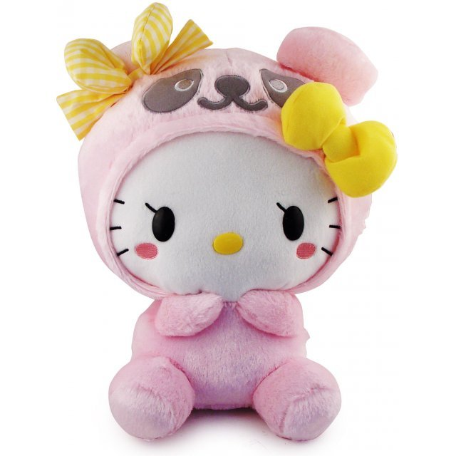 Panda Hello Kitty Plush Doll: Pink Panda Kitty