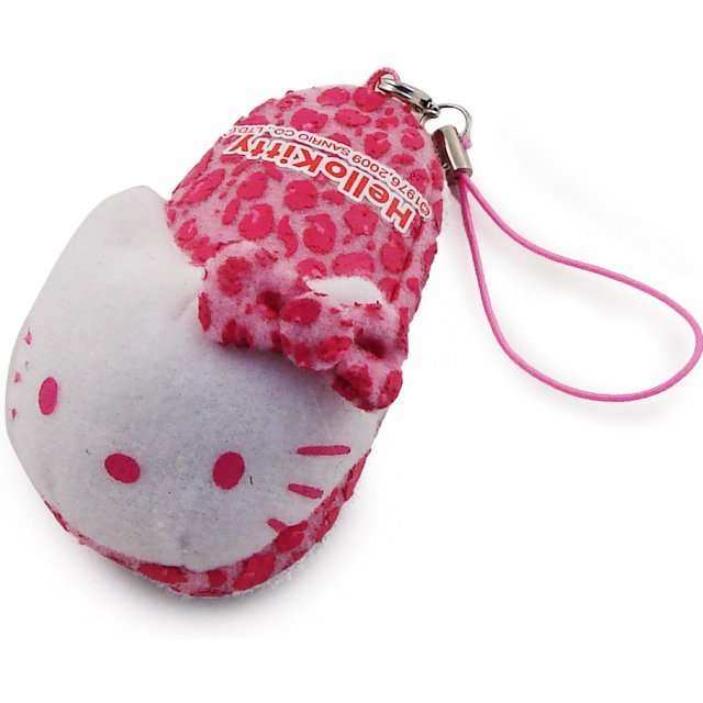 Bandai Hello Kitty Screen Cleaner Strap (Pink Version)