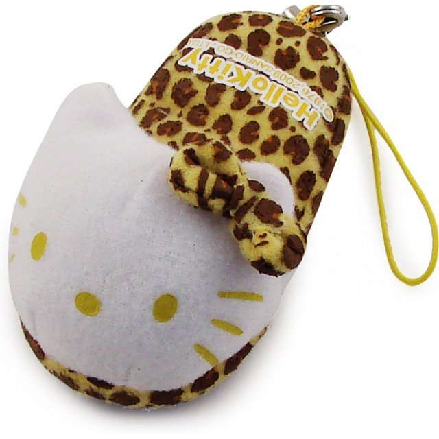 Bandai Hello Kitty Screen Cleaner Strap (Yellow Version)