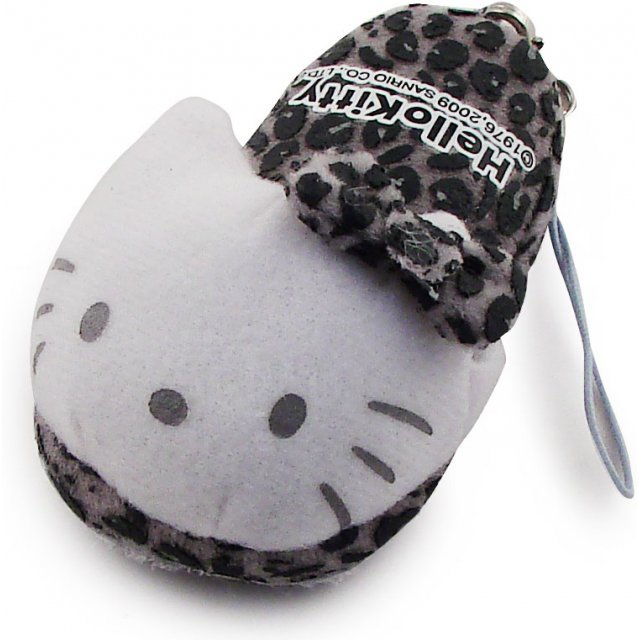 Bandai Hello Kitty Screen Cleaner Strap (Grey Version)