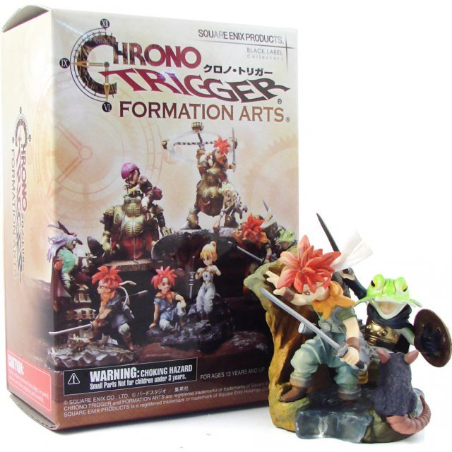 Chrono Trigger Formation Arts Pre-Painted Trading Figure