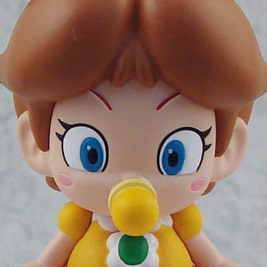 Super Mario Figure Collection Vol. 3 Pre-Painted Mini Figure: Baby Daisy