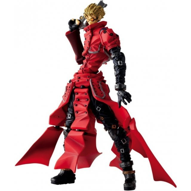 Revoltech Series No. 091 - Trigun the Movie Badlands Rumble Pre-Painted PVC Figure: Vash the Stampede
