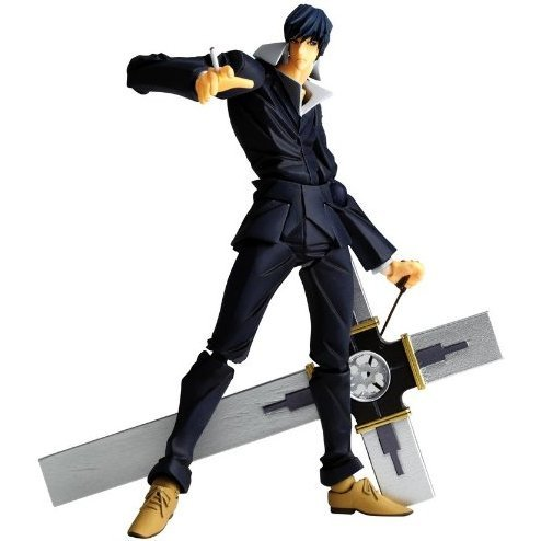 Revoltech Series No. 092 - Trigun the Movie Badlands Rumble Pre-Painted PVC Figure: Nicholas D. Wolfwood